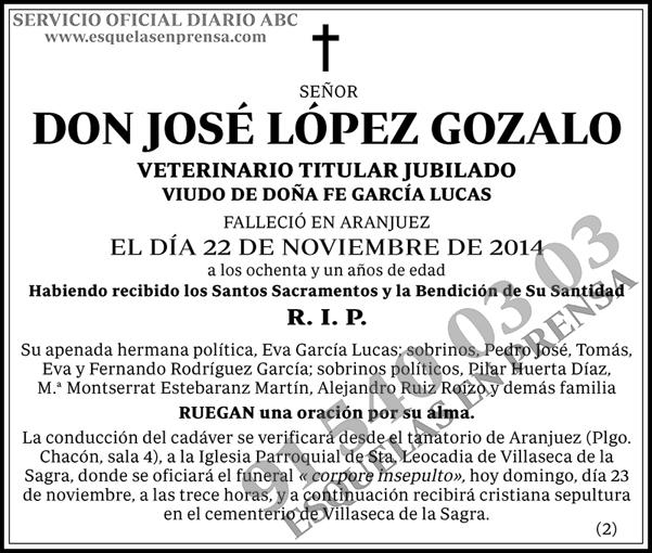 José López Gozalo
